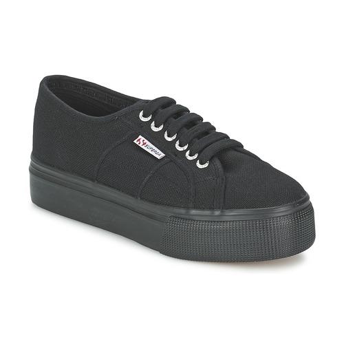Scarpe Donna Sneakers basse Superga 2791 COTEW LINEA Nero