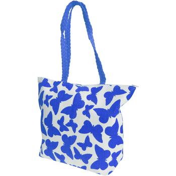 Borse Donna Tote bag / Borsa shopping Floso  Bianco/Blu