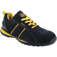 Scarpe Uomo Sneakers basse Grafters  Navy Blu/Giallo