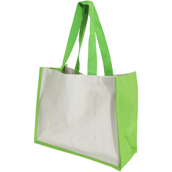 Borse Donna Tote bag / Borsa shopping Westford Mill W422 Verde Mela