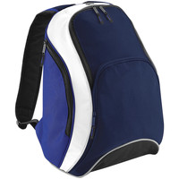Borse Zaini Bagbase BG571 Blu navy/Blu reale/Bianco