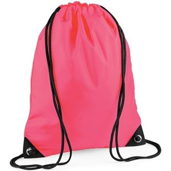 Borse Unisex bambino Borse da sport Bagbase BG10 Rosa Fluo