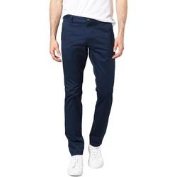 Abbigliamento Uomo Chino Dockers ALPHA ORIGINAL SKINNY PEMBROKE TWILL blu marino