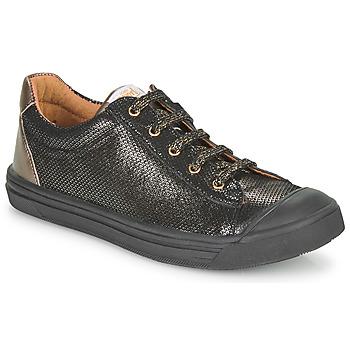 Scarpe Bambina Sneakers basse GBB MATIA Nero / Oro