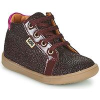 Scarpe Bambina Sneakers alte GBB FAMIA Bordeaux