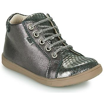 Scarpe Bambina Sneakers alte GBB FAMIA Grigio