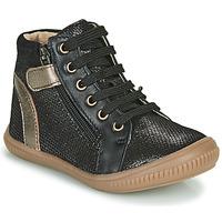 Scarpe Bambina Sneakers alte GBB RACHIDA Nero