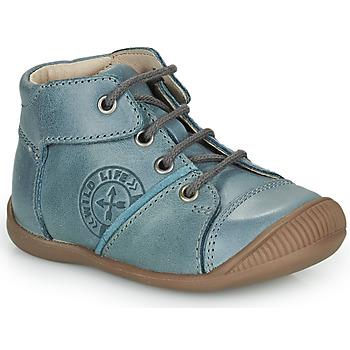 Scarpe Bambino Sneakers alte GBB OULOU Blu