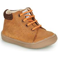 Scarpe Bambino Sneakers alte GBB FOLLIO Marrone