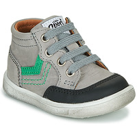 Scarpe Bambino Sneakers alte GBB VIGO Grigio