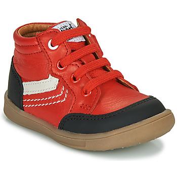 Scarpe Bambino Sneakers alte GBB VIGO Rosso