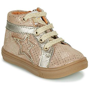 Scarpe Bambina Sneakers alte GBB NAVETTE Beige