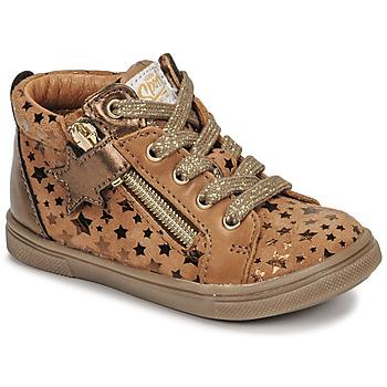 Scarpe Bambina Sneakers alte GBB VALA Marrone