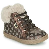 Scarpe Bambina Sneakers alte GBB JUNA Marrone
