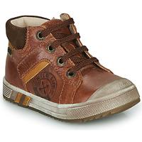 Scarpe Bambino Sneakers alte GBB OLANGO Marrone
