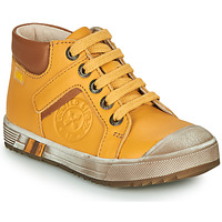 Scarpe Bambino Sneakers alte GBB OLANGO Giallo