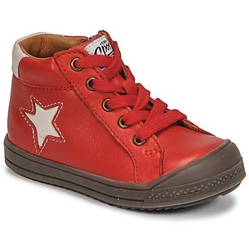 Scarpe Bambino Sneakers alte GBB KASSIO Rosso