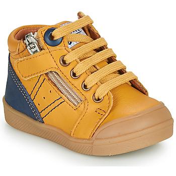 Scarpe Bambino Sneakers alte GBB ANATOLE Arancio