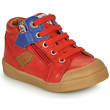Scarpe Bambino Sneakers alte GBB IONNIS Rosso