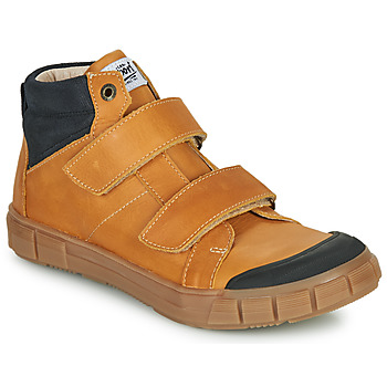 Scarpe Bambino Sneakers alte GBB HENI Cognac