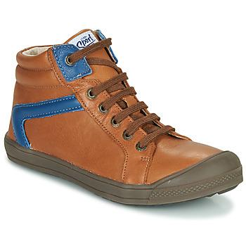 Scarpe Bambino Sneakers alte GBB IWEN Marrone
