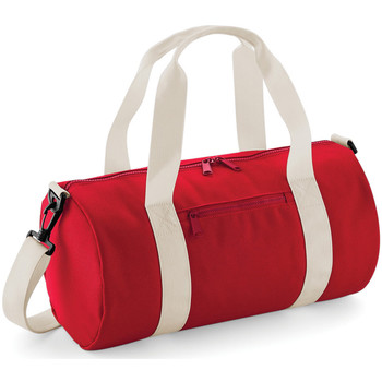 Borse Donna Borse da viaggio Bagbase BG140S Rosso/Bianco naturale