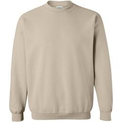 Abbigliamento Felpe Gildan 18000 Sabbia