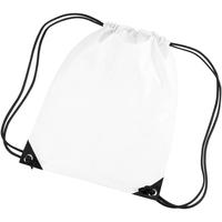 Borse Unisex bambino Borse da sport Bagbase BG10 Bianco