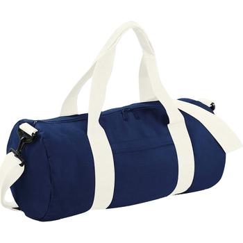 Borse Borse da viaggio Bagbase BG140 Blu navy/Bianco panna