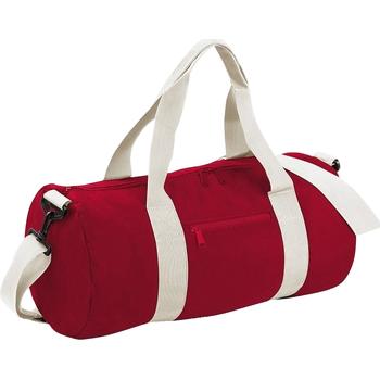 Borse Borse da viaggio Bagbase BG140 Rosso/Bianco panna