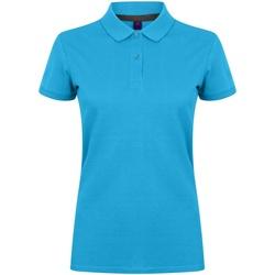 Abbigliamento Donna Polo maniche corte Henbury HB102 Zaffiro