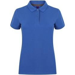 Abbigliamento Donna Polo maniche corte Henbury HB102 Blu reale