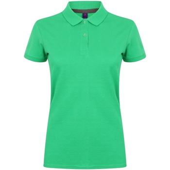 Abbigliamento Donna Polo maniche corte Henbury HB102 Verde kelly