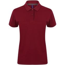 Abbigliamento Donna Polo maniche corte Henbury HB102 Bordeaux