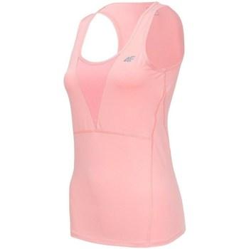 Abbigliamento Donna Top / T-shirt senza maniche 4F TSDF001 Rosa