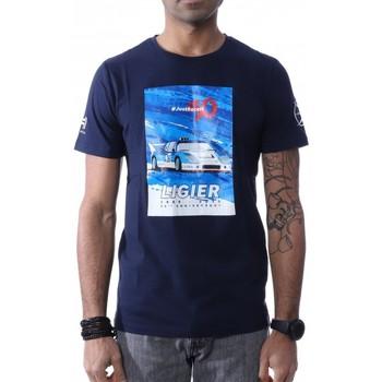 Abbigliamento Uomo T-shirt maniche corte Hungaria H-748080-60 Blu