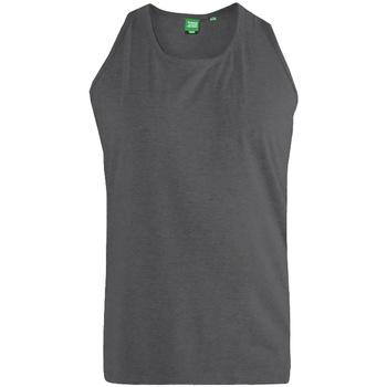 Abbigliamento Uomo Top / T-shirt senza maniche Duke  Carbone melange