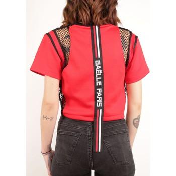 Abbigliamento Donna T-shirt maniche corte GaËlle Paris GBD3601 Multicolore