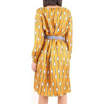 Abbigliamento Donna Abiti corti Alysi Creme 109335 P9029 Multicolore