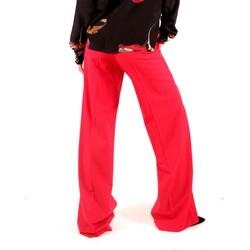 Abbigliamento Donna Pantaloni morbidi / Pantaloni alla zuava Alysi Chocolate 158142 A8203 Multicolore