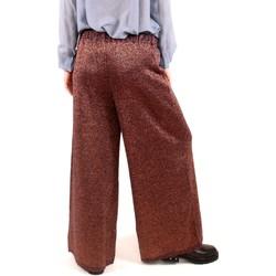 Abbigliamento Donna Pantaloni morbidi / Pantaloni alla zuava Alysi Creme 258103 A8042 Multicolore