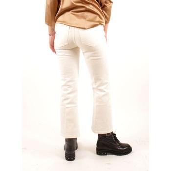 Abbigliamento Donna Chino Alysi Creme 258113 A8062 Multicolore