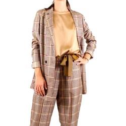 Abbigliamento Donna Giacche Alysi Creme 158811 A8010 Multicolore