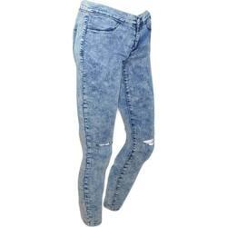 Abbigliamento Donna Jeans slim Malu Shoes Jeggins donna skinny jeans elastizzato vita bassa slow waist la BLU