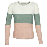 Abbigliamento Donna Maglioni Only ONLGEENA Beige / Rosa