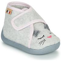 Scarpe Bambina Pantofole GBB HELORIE Grigio