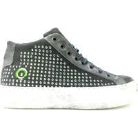 Scarpe Donna Sneakers alte Lavorazione Artigianale Italiana ATRMPN-16889 Grigio