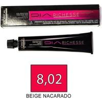 Bellezza Donna Tinta L´oreal shampoo giorno Richesse - 8.02 - Beige Nacarado hair color day Richesse - 8.02 - Beige Nacarado