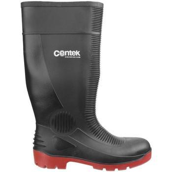 Scarpe Stivali da pioggia Centek  Nero/Rosso