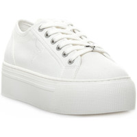 Scarpe Donna Sneakers basse Windsor Smith RUBY CANVAS WHITE Bianco